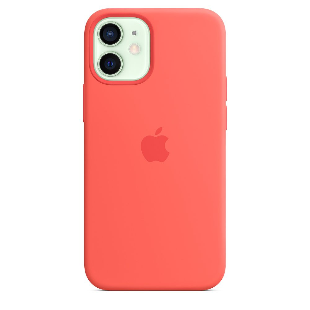 Apple iPhone 12 mini Silicone Case with MagSafe - Pink Citrus (MHKP3ZM/A)