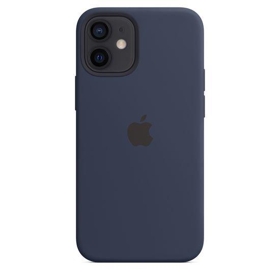 Apple iPhone 12 mini ovitek, MagSafe, Deep Navy (MHKU3ZM/A)