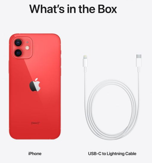 Apple iPhone 12 mini, 128GB, (PRODUCT)RED™