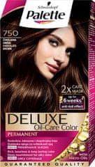 Schwarzkopf Palette Deluxe boja za kosu, 750 Chocolate Brown