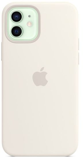 Apple iPhone 12 | 12 Pro Silicone Case with MagSafe - White MHL53ZM/A