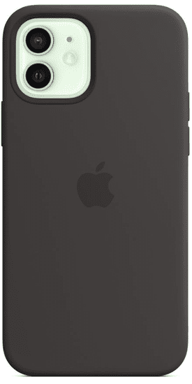Apple iPhone 12 | 12 Pro Silicone Case with MagSafe - Black MHL73ZM/A