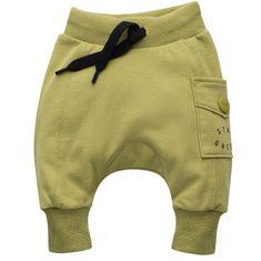 PINOKIO otroške hlače, 62, zelene