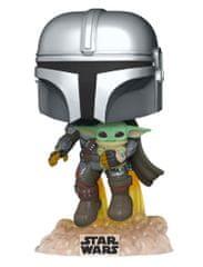 Figurka Star Wars: The Mandalorian - Mando with Jet Pack (Funko POP! Star Wars 402)