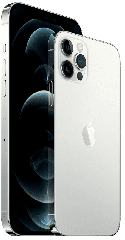 Apple iPhone 12 Pro Max, 128GB, Silver