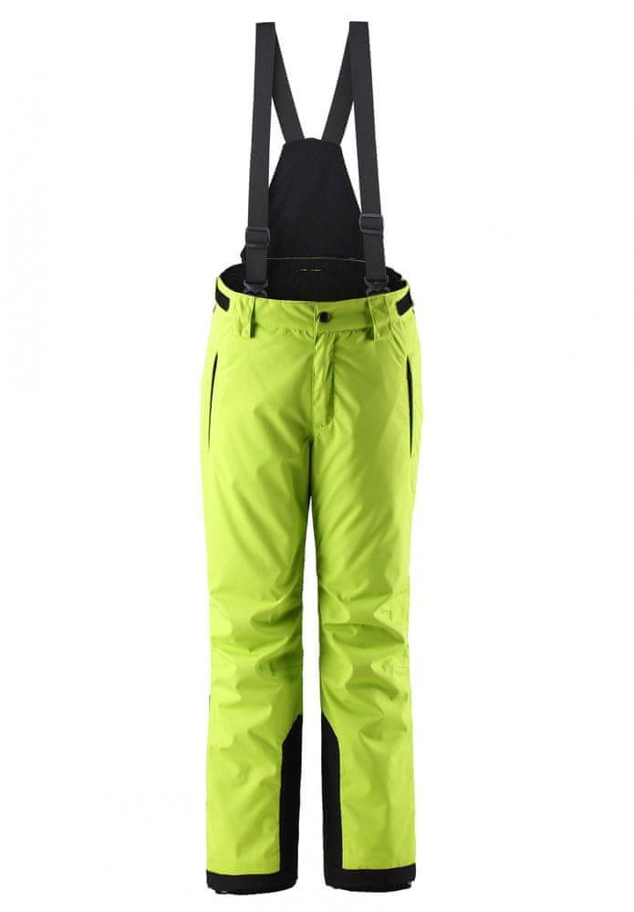 Reima dětské lyžařské kalhoty Wingon 134 zelená