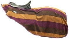 HKM Fleecová bederní odpocovací deka HKM fialová/hnědá, Velikost 135