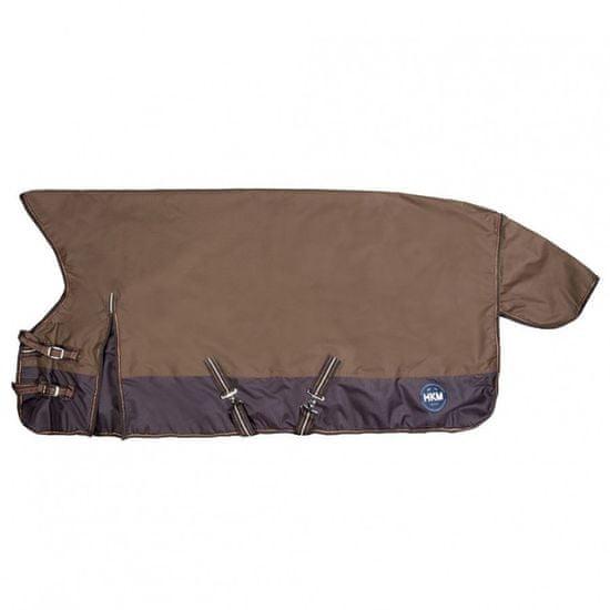 HKM Výběhová termo deka s vysokým krkem 400g HKM | hnědá, Velikost 140