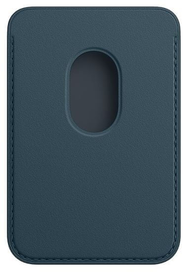 Apple iPhone Leather Wallet with MagSafe - Baltic Blue (MHLQ3ZM/A)