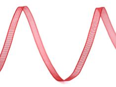 Kraftika 48.5m červená monofilová stuha šíře 3mm