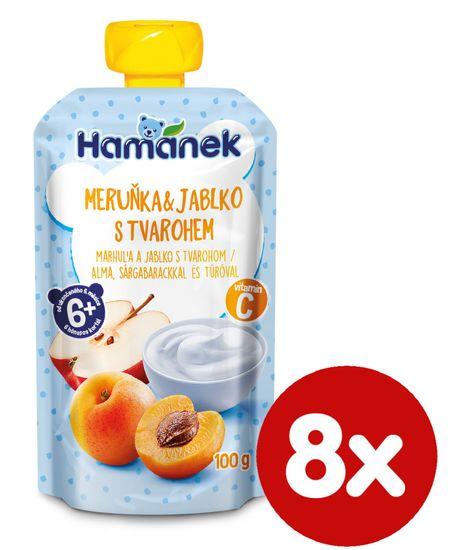 Hamánek Marhuľa tvaroh 8x 100 g