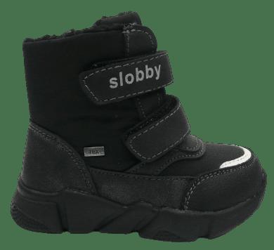 Slobby dětská kotníčková obuv 160-2010-T1 24 černá