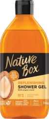 Nature Box gel za prhanje, argan, 385 ml
