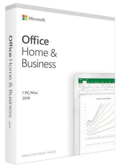 Microsoft Office Home & Business 2019 programska oprema, ANG, 1 PC