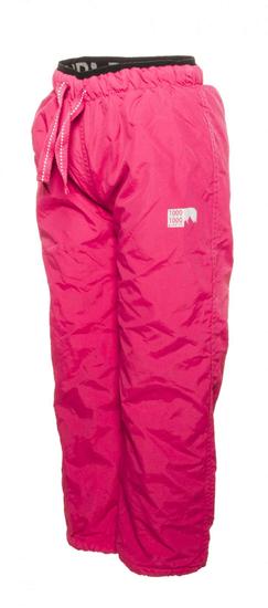 PIDILIDI dziewczęce spodnie zimowe z polarową podszewką