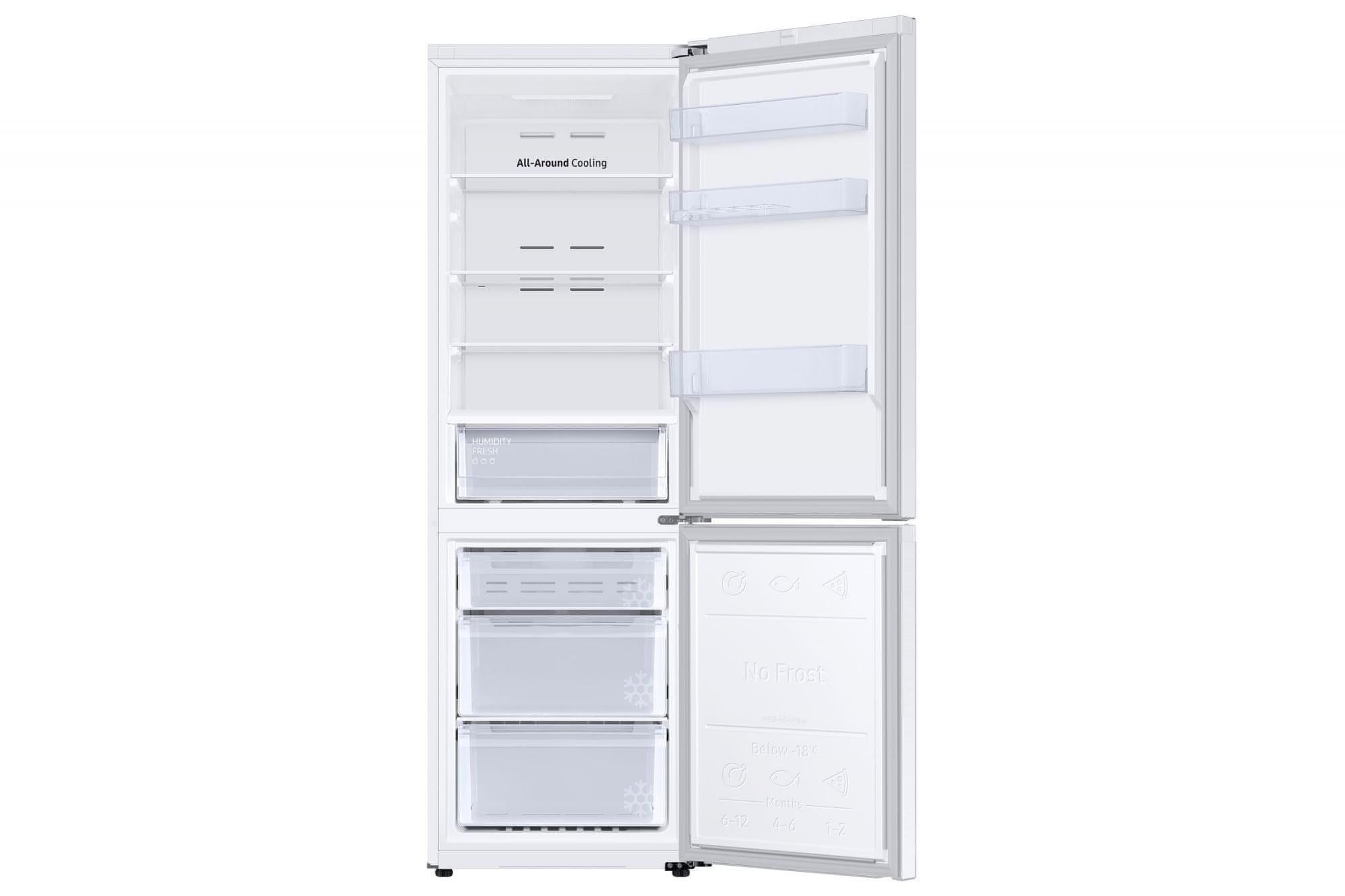 Kombinovaná chladnička Samsung RB34T670ESA/EF SpaceMax
