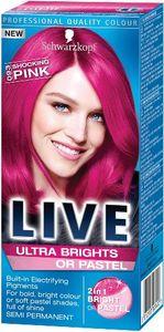 Schwarzkopf Live XXL Ultra barva za lase, 93 šokantno roza