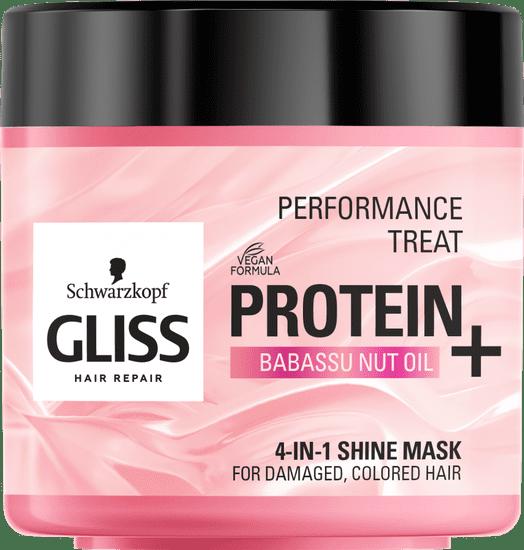 Gliss Kur Hair Repair maska za lase, Miracle Shine Enchancing, 400 ml
