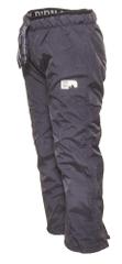PIDILIDI Zimowe spodnie dziecięce z polarową podszewką 86 Szare