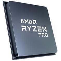 AMD Ryzen 7 PRO 4750G procesor, 8 jeder, 16 niti, 65 W, Wraith Stealth hladilnik (100-100000145MPK)
