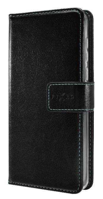 FIXED Pouzdro typu kniha Opus pro Xiaomi Mi10 Lite, černé FIXOP-534-BK