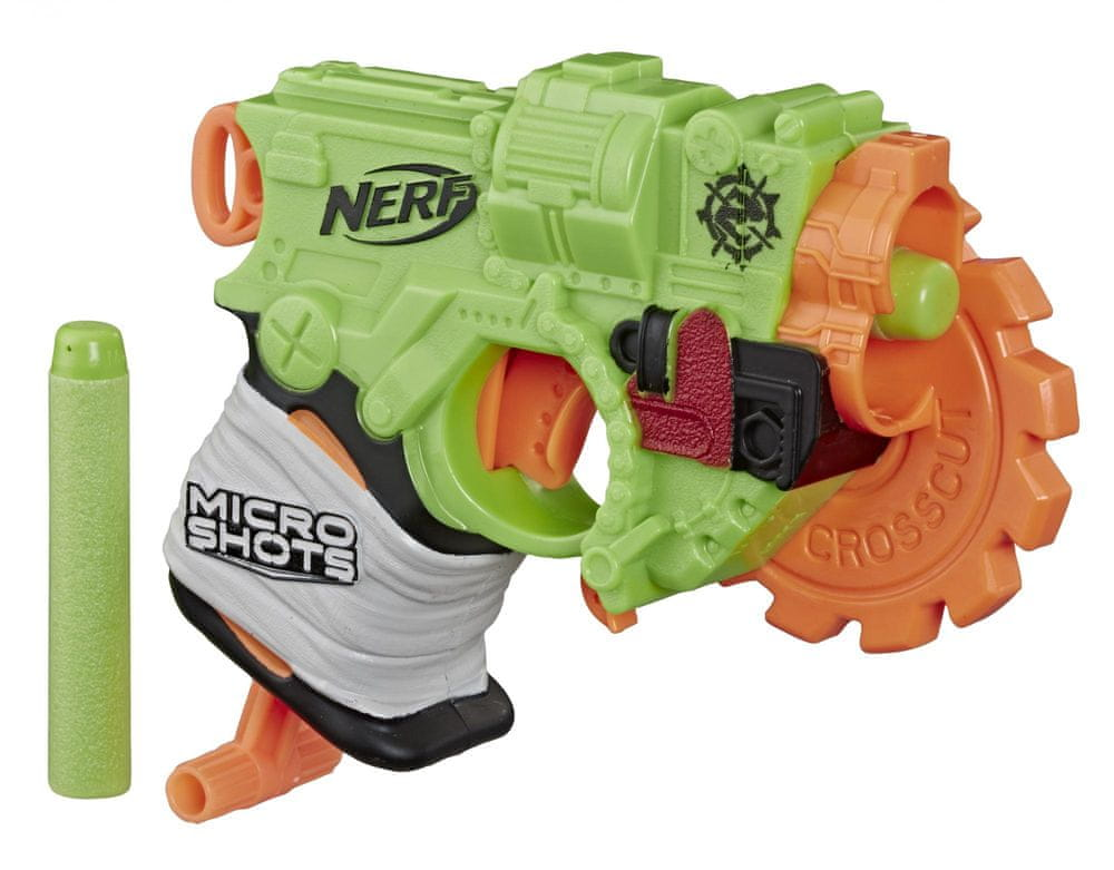 Nerf ZOMBIE Microshots Crosscut