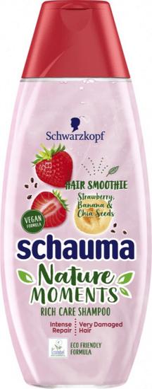 Schauma Nature Moments Smoothie šampon, Banana & Chia Seeds, 400ml