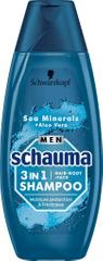 Schauma Sea Mineral & Aloe Vera šampon, 3u1, 400ml