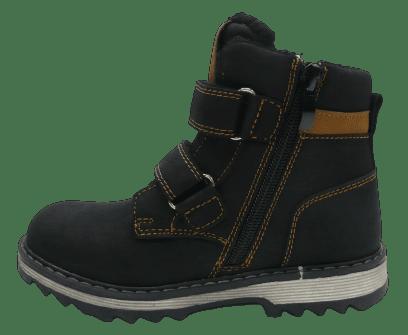 Slobby dětská kotníčková obuv 162-2055-T1 33 černá