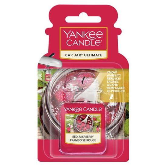 Yankee Candle gelová visačka do auta Red Raspberry