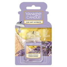 Yankee Candle gelová visačka do auta Lemon Lavender 1 ks