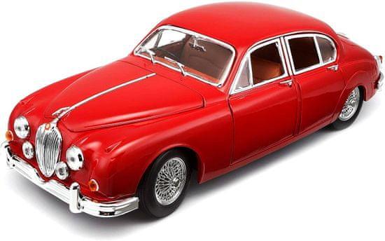 BBurago model automobila Jaguar Mark 1959 1:18, red/crveni