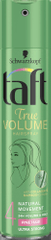 Taft True Volume lak za lase, Natural Movement, Volume & Hold, 4