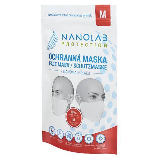 Nanolab Protection Ochranná nano rouška - Balení 10 ks - Velikost M