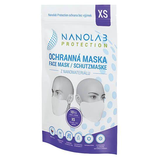 Nanolab Protection Ochranná nano rouška - Balení 10 ks - Velikost XS