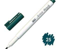 Marvy Popisovač 1100 artist brush bottle green,