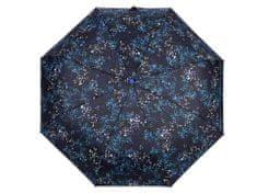 Kraftika 1ks černá dámský skládací vystřelovací deštník