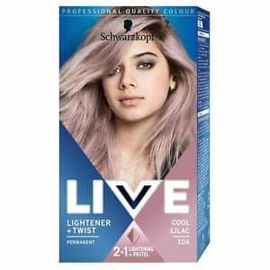 Schwarzkopf Live Lightener + Twist barva za lase, lila