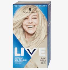 Schwarzkopf Live boja za kosu, 10.21 Baby Blond