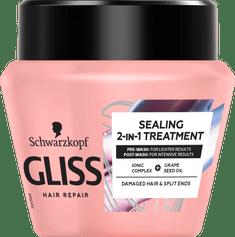 Gliss Kur Hair Repair maska za lase, Split Ends Miracle, 300 ml