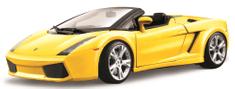 BBurago model 1:18 Lamborghini Gallardo Spyder žuti