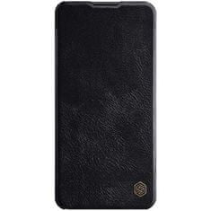 Nillkin Nillkin Qin ovitek za Samsung Galaxy A21s, preklopni, črn