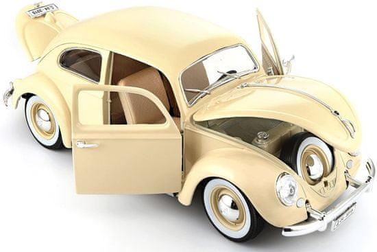 BBurago model Volkswagen Buba 1:18 1955, krem