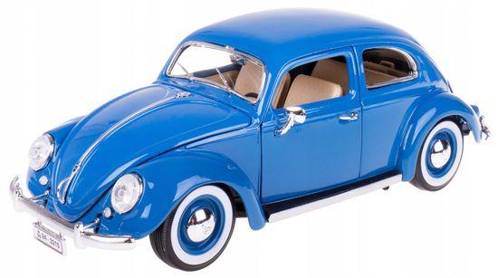 BBurago model Volkswagen Buba 1:18 1955, plavi
