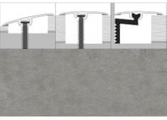 Dimex Prechodové lišty PVC univerzálne CS3, šírka 3 x 93 cm - betón