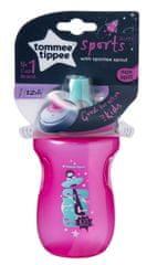Tommee Tippee Netekoucí sportovní láhev 300ml 12m+ Pink