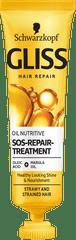 Gliss Kur Hair Repair Instant Therapy olje za lase, Oil Nutritive, 20 ml