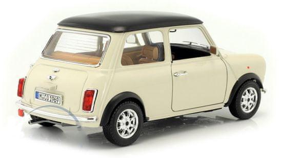 BBurago model 1:18 Mini Cooper (1969) beżowy
