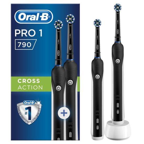 Oral-B zestaw szczoteczek elektrycznych PRO790 DUO Cross Action