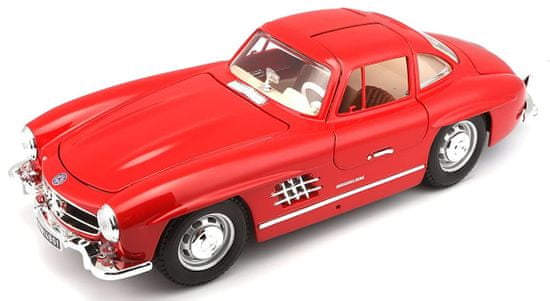 BBurago model 1:18 Mercedes-Benz 300 SL(1954) czerwony